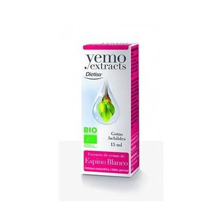 YEMO EXTRACTO ESPINO BLANCO BIO 15ml DIETISA Plantas Medicinales 13,61€