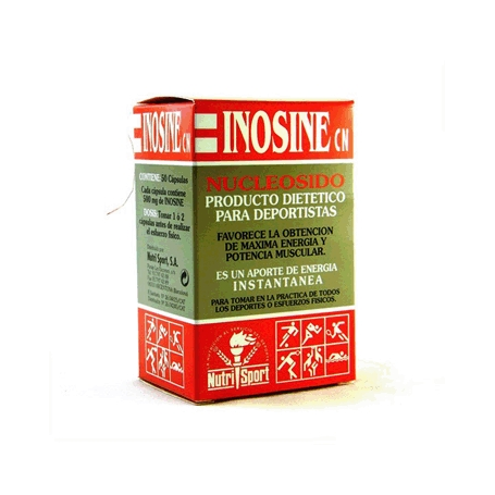 INOSINE NUCLEOSIDO 50cap NUTRI SPORT