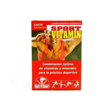 SPORTVITAMIN NARANJA SOBRES 10sb NUTRI SPORT Nutrición Deportiva 7,00€