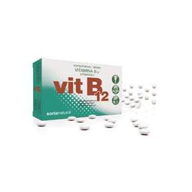 VITAMINA B12 RETARD 48comp SORIA NATURAL Suplementos nutricionales 6,23€