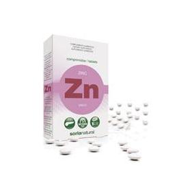 ZINC RETARD 48comp SORIA NATURAL Suplementos nutricionales 6,69€
