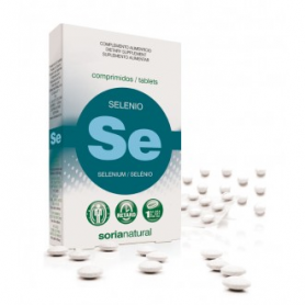 SELENIO RETARD 24comp SORIA NATURAL Suplementos nutricionales 6,23€