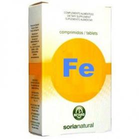HIERRO RETARD 32comp SORIA NATURAL Suplementos nutricionales 6,23€