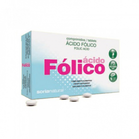 ACIDO FOLICO 48comp SORIA NATURAL Ácido Fólico 5,77 €