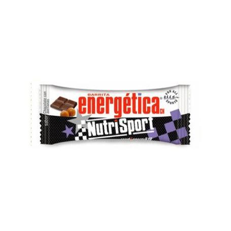 BAR. ENERG CHOCO AVELLANAS 24ud NUTRI SPORT