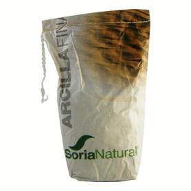 ARCILLA FINA 1kg SORIA NATURAL Cosmética e higiene natural 5,04€