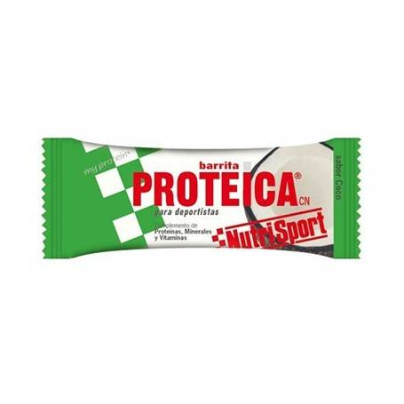 BAR. PROTEICA COCO 24ud NUTRI SPORT Nutrición Deportiva 31,44€