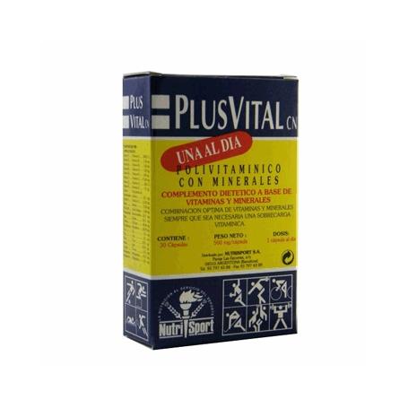 PLUSVITAL 30cap NUTRI SPORT Suplementos nutricionales 6,88€