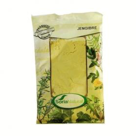 JENGIBRE Polvo 75g SORIA NATURAL Plantas Medicinales 4,23€