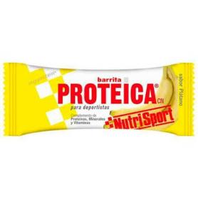 BAR. PROTEICA PLATANO 24ud NUTRI SPORT