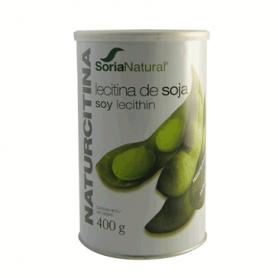NATURCITINA Lecitina de Soja 400gr SORIA NATURAL Suplementos nutricionales 12,99€
