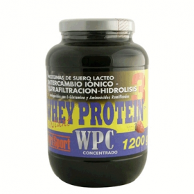WHEY PROTEIN 3 FRESA 1,2kg NUTRI SPORT Nutrición Deportiva 52,38€