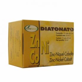 DIATONATO 5/2 - ZINC-NIQUEL-COBALTO 12amp SORIA NATURAL Suplementos nutricionales 12,98€