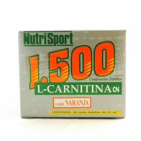 CARNITINA 1500MG NARANJA 25ml NUTRI SPORT
