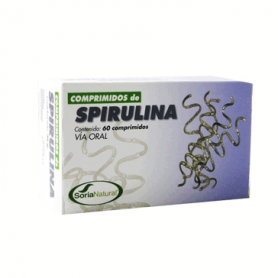 ESPIRULINA 60comp SORIA NATURAL