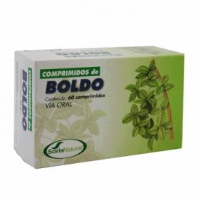 BOLDO 60comp SORIA NATURAL Plantas Medicinales 7,28€