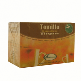 TOMILLO Infusión 20ud SORIA NATURAL Plantas Medicinales 2,89€