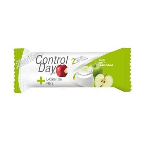 CONTROL DAY BAR. YOGUR MANZANA 24ud NUTRI SPORT Nutrición Deportiva 31,44€