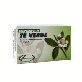 TE VERDE 60comp SORIA NATURAL Plantas Medicinales 5,90€