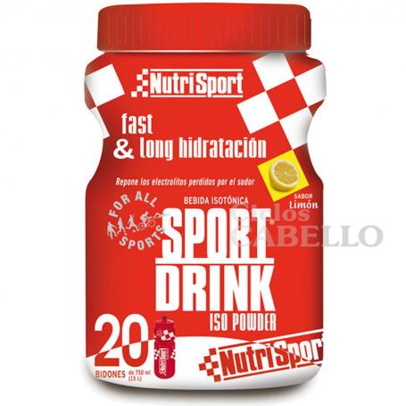 SPORTDRINK ISO LIMON LIQUIDO 500ml NUTRI SPORT