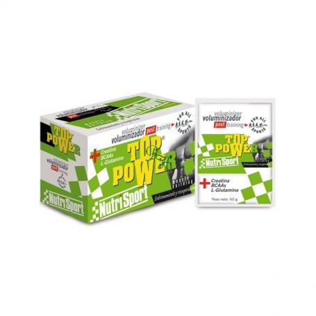 TOP POWER VAINILLA SOBRES 24sb NUTRI SPORT Nutrición Deportiva 57,04€