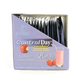 CONTROL DAY BATIDO FRESA SOBRES 18sb NUTRI SPORT