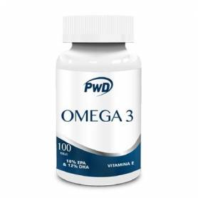OMEGA 3+VIT.E 100mg 100perl PWD Suplementos nutricionales 14,62 €