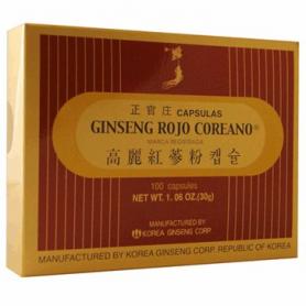 GINSENG ROJO COREANO 100cap GRC Plantas Medicinales 41,15€