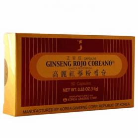GINSENG ROJO COREANO 50cap GRC Plantas Medicinales 23,58€