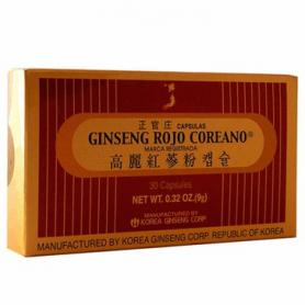 GINSENG ROJO COREANO 30cap GRC Plantas Medicinales 16,83€