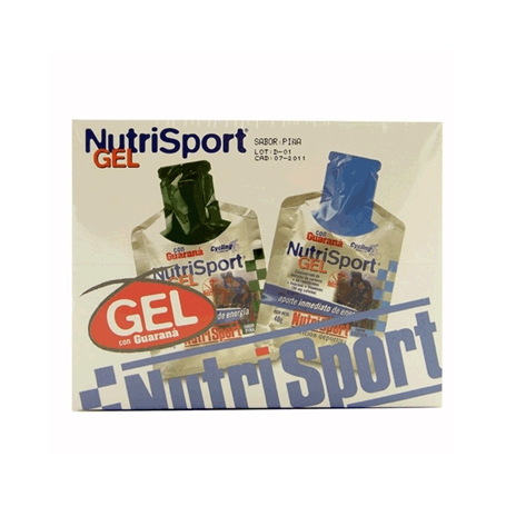 GEL GUARANA PIÑA CYCLING 40g NUTRI SPORT