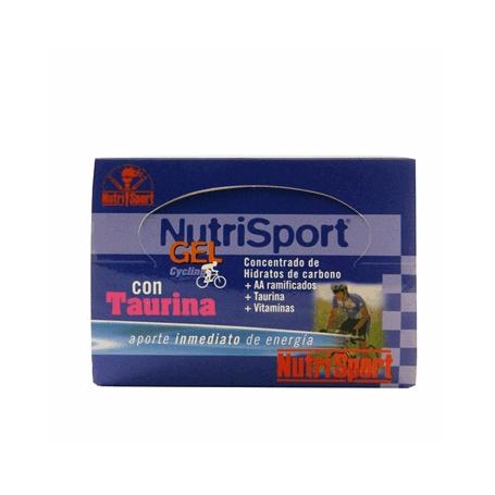 GEL TAURINA FRESA CYCLING 40g NUTRI SPORT