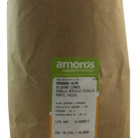 ARANDANO HIERBA HOJAS TRITURADAS 1kg AMORÓS Plantas Medicinales 11,75€