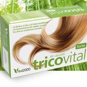 TRICOVITAL FORTE 60cap VITAL 2000 Suplementos nutricionales 16,50€