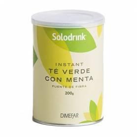 SOLODRINK TE VERDE CON MENTA SOLUBLE 200g DIMEFAR Plantas Medicinales 8,92€