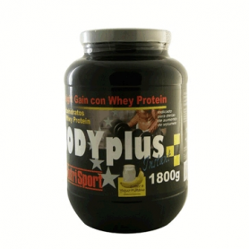 BODYPLUS YOGUR PLATANO 1,8kg NUTRI SPORT