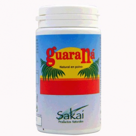 GUARANA POLVO 65g SAKAI Suplementos nutricionales 7,48€