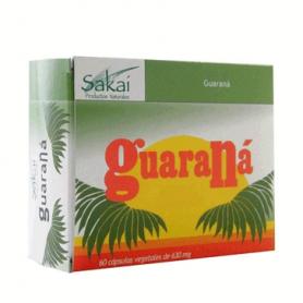 GUARANA 500MG 60cap SAKAI Plantas Medicinales 7,55€