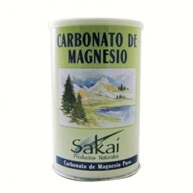 CARBONATO MAGNESIO POLVO 160g SAKAI Suplementos nutricionales 4,61€