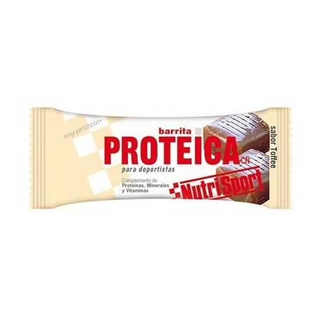 BAR. PROTEICA TOFFEE 24ud NUTRI SPORT Nutrición Deportiva 31,44€