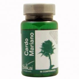 CARDO MARIANO 90comp SAKAI Plantas Medicinales 7,28€