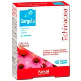 GARGOLA ECHINACEA 45cap SAKAI Suplementos nutricionales 8,02€