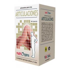 NUTRIORGANS ARTICULACIONES 60cap TONG-IL Suplementos nutricionales 18,95€
