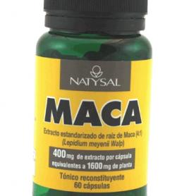 MACA 4000MG 60cap NATYSAL Plantas Medicinales 27,21€