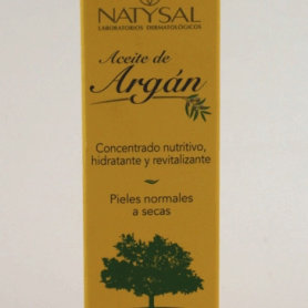 ACEITE ARGAN 30ml NATYSAL Cosmética e higiene natural 17,63€