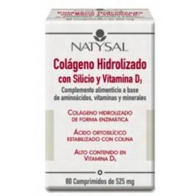 COLAGENO SILICIO VIT. D3 80comp NATYSAL Suplementos nutricionales 17,97€