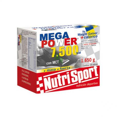 MEGAPOWER 7500 BATIDOS FRESA 15sb NUTRI SPORT Nutrición Deportiva 34,41€