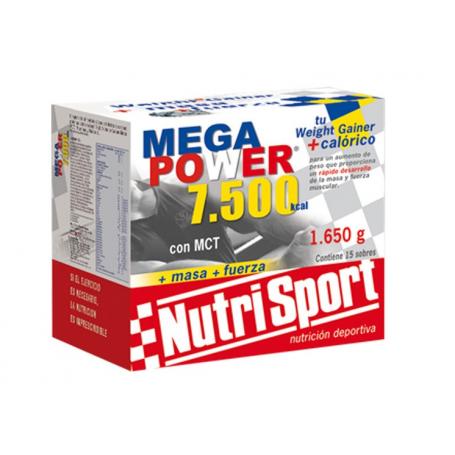 MEGAPOWER 7500 BATIDOS CHOCO 15sb NUTRI SPORT Nutrición Deportiva 35,00€
