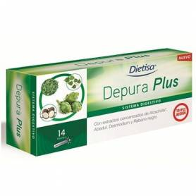 DEPURA PLUS 14amp DIETISA Suplementos nutricionales 15,14€