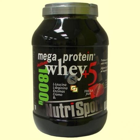 MEGA PROTEIN FRESA 1,8kg NUTRI SPORT